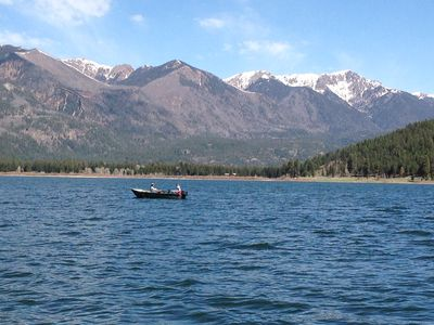 Vallecito Lake Fishing Fishing on Vallecito Lake in
