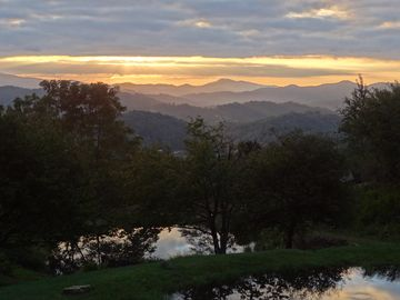 Boone cabin rental - Your view!
