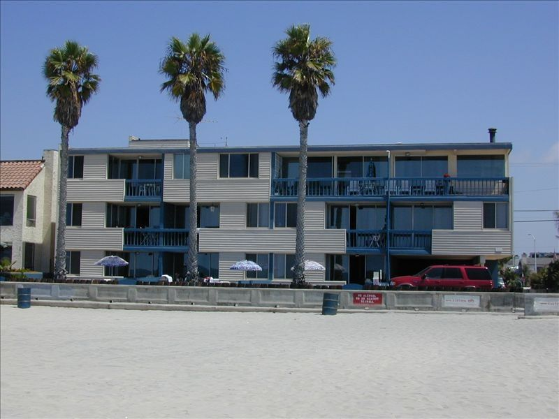 South Mission Beach Oceanfront Vacation Rental Vrbo