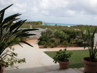 Anguilla villa photo - Bow Green garden & Rendezvous Bay Beach a few minutes walk