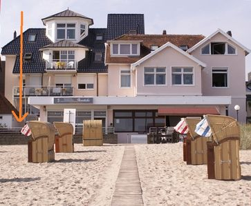 2 Zimmerwohng 50 sqm 2-3 Pers you. in the Central and the beach of Niendorf / Baltic Sea