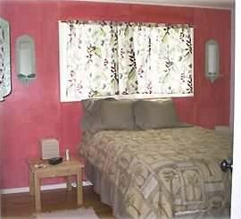 "The ""red"" bedroom"