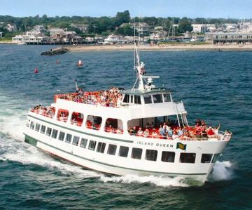 Island Queen Ferry: Convenient way to get from Falmouth to Martha's Vineyard.