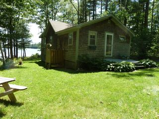 Damariscotta cottage photo - Enjoy a refreshing outdoor shower