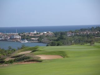 La Romana villa photo - Pete Dye's 'Dye Fore' unbelievable