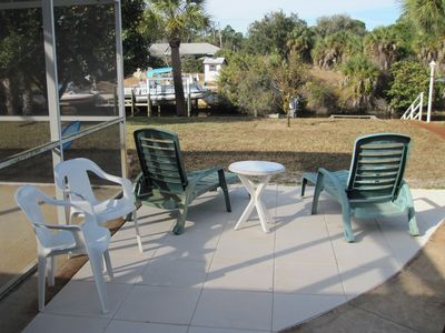Port Charlotte house rental - Outdoor Patio