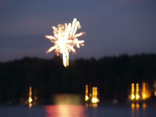 Lake Bomoseen house photo - Watch 4th of July Fireworks on Lake Bomoseen from Deck