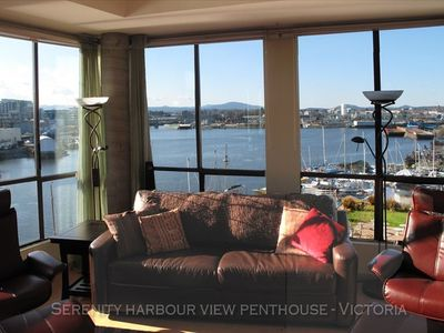 The harbour is an integral part of this condo.