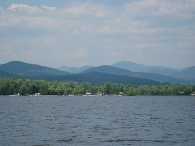 Schroon Lake cabin rental - The Adirondack High Peaks