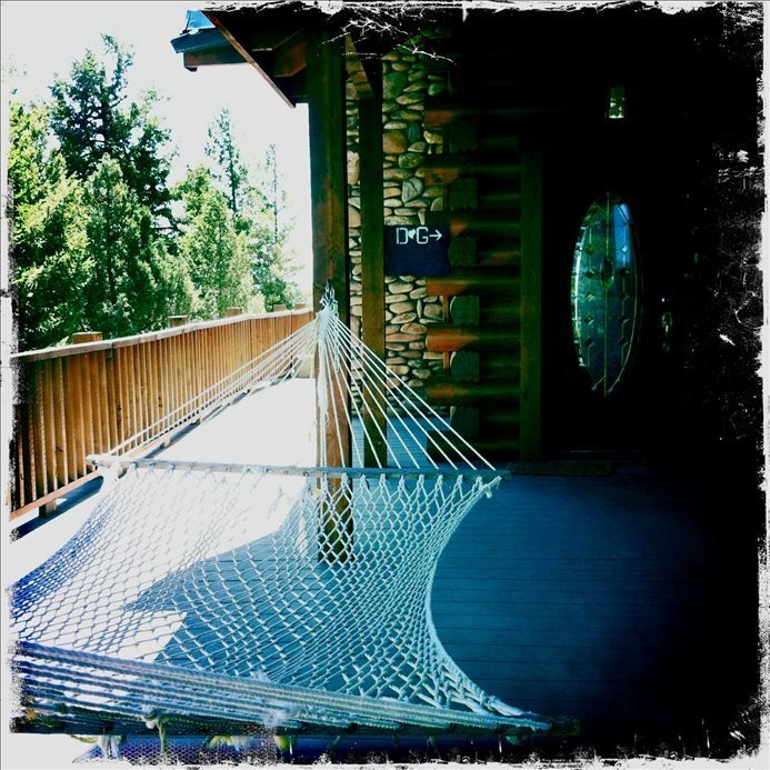 Hammock available upon request: Perfect for summer nights.