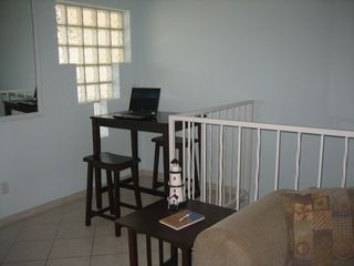 South Padre Island house photo - Computer desk/work table area (WiFi and wired connections)