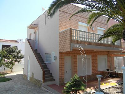 HOUSE 750 METERS FROM THE BEACH, IDEAL FOR 2 FAMILIES, BARBECUE, GARDEN, PARKING