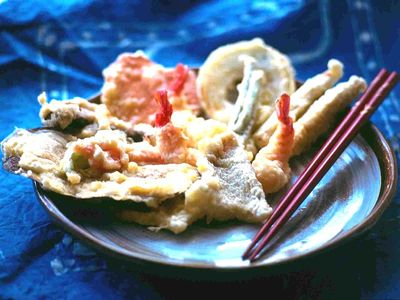 Chideock cottage rental - Japanese food