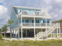 Brand new!  Gulf Front!  Beautifully decorated!  WiFi and more!