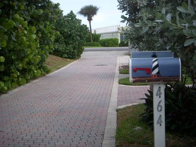 Juno Beach cottage rental - A one minute walk to beautiful Juno Beach - Just across Ocean Drive