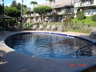 Kaanapali condo photo - Small Pool on Backside of Unit; One of Three Freshwater Pools