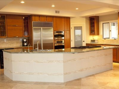 Recently remodeled gourmet kitchen