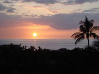 Watch breathtaking sunsets from your private lanai.