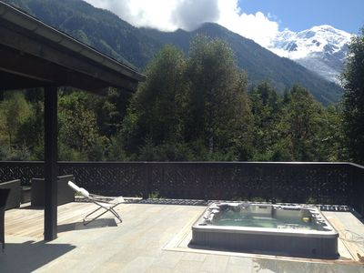 Beautiful chalet, great view in Chamonix, jacuzzi sauna hamam ski room 8 p.