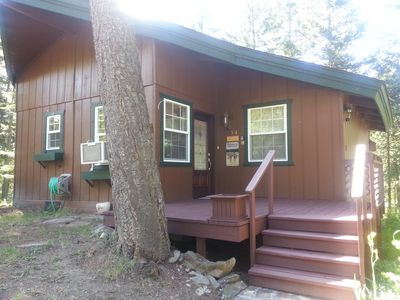 The Healing Cabin entrance