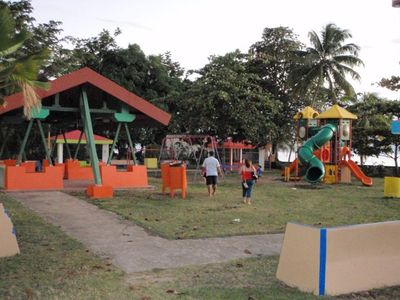 Public Playground in front of condo