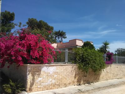Nice house on the Ionian Sea in a quiet location with panoramic views!