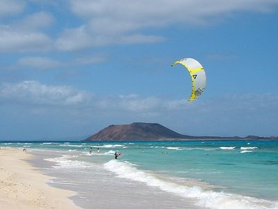 Flag beach, Corralejo