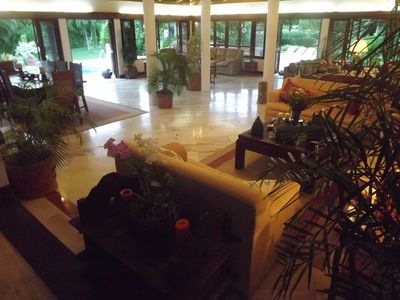 La Romana villa rental - Spacious 100m2 living room