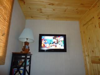 Bryson City cabin photo - 37 in flatscreen has a DVR for recording HDTV with surround