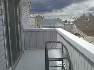 upstairs back deck - Beach Haven house vacation rental photo