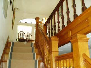 Rockport house photo - Triplex staircase