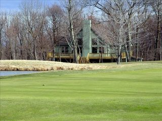 Wintergreen house photo - Stop by our house for a cold one when on holes 7, 8 or 9