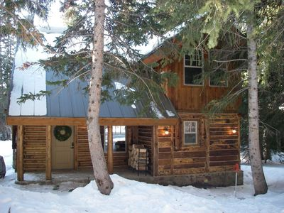Brighton cabin rental - Our cozy log cabin