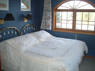 Fairmont Hot Springs house photo - King size bed can be split into 2 singles