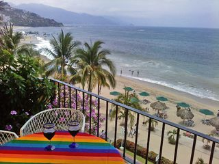 Puerto Vallarta condo photo - Your balcony - the ideal spot for your Puerto Vallarta vacation !!!