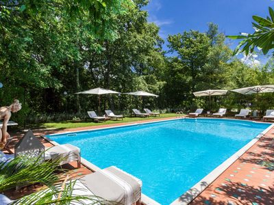 Charming Luxury Tuscan Lucca Villa with Pool and Views over The Town and Hills