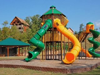 Pigeon Forge cabin photo - A play ground in Starr Crest for your kids to work off their energy.