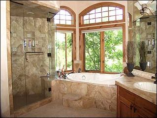 Edwards house photo - Opulent Master Bath with Steam/Jacuzzi
