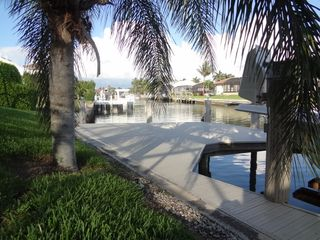 Vacation Homes in Marco Island house photo - Dock for lounging, sunbathing, or fishing