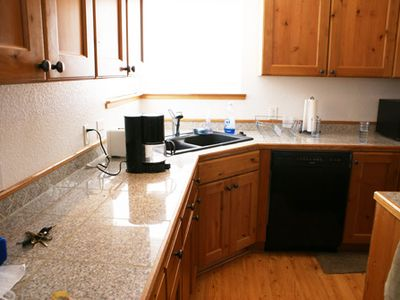 Tahoe Valley house rental - Full Kitchen w/lots of great counter space, etc