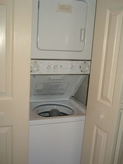 Pawleys Island condo photo - Washer & Dryer inside the unit