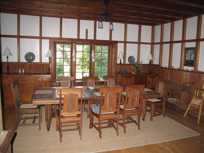 Big Cottage, Dining Room