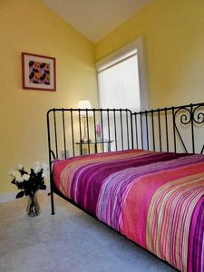 First Floor Bed Room - - Blue Rose Cottage Bar Harbor Vacation Rental