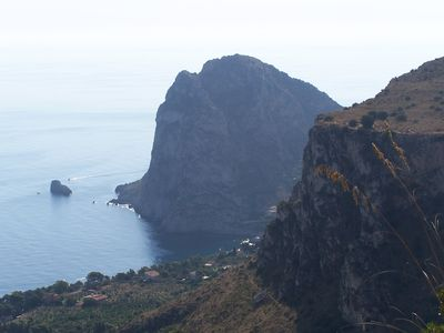 CAPO ZAFFERANO FROM THE TRAILS OF MONTE CATALFANO