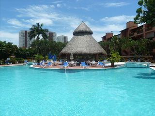 Puerto Vallarta condo photo - Huge swimming pool with lazy river