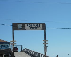 North Padre Island condo photo - Great fishing at Bob Hall Pier..1 mile down the beach.