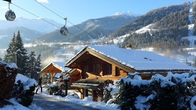Chalet directly at the cable station of Verbier for 10 people