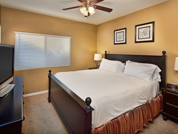 Lower Level Master Suite with Flat Screen TV!