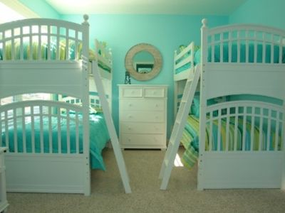 Two rooms with doulbe bunks