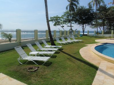 Rincon villa rental - Lounge Chairs by the pool